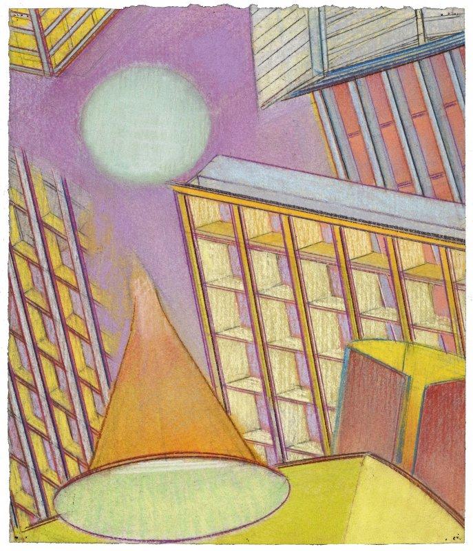 Série Ballard ministère de La Défense, pastel sur papier Fabriano Roma, ca. 40 x 33 cm, 2010-2015