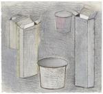 Pharmacity, pastel sur papier Fabriano Roma, ca. 40 x 50 cm, 2010