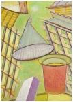 Série Ballard ministère de La Défense, pastel sur papier Fabriano, 33 x 24,5 cm, 2010-2015