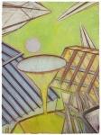 Série Ballard ministère de La Défense, pastel sur papier Fabriano Roma, 40 x 33 cm, 2010-2015