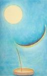 Toucher la Lune 1, pastel sur papier Fabriano, 80 x 50 cm, 1990.jpg