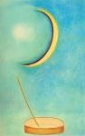 Toucher la Lune 2, pastel sur papier Fabriano, 80 x 50 cm, 1990.jpg